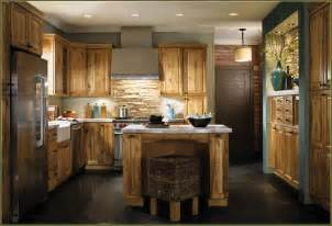 Rustic Hickory Kitchen Cabinets Home Design Ideas