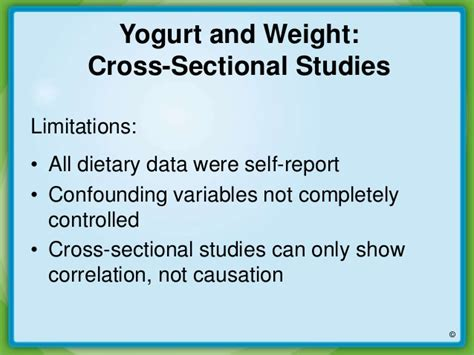 cross sectional correlational study yogurt and weight management new insights on the evidence