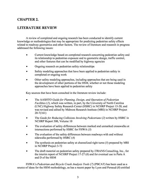 define literature review in research paper literature review unc