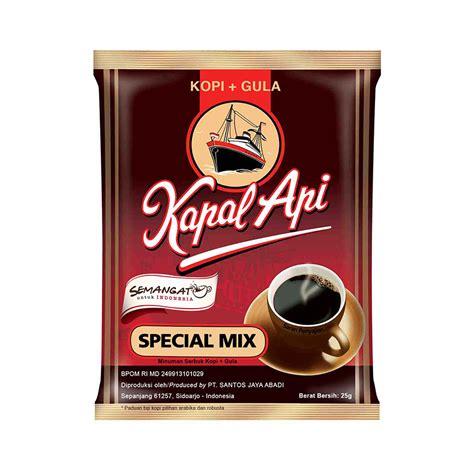 Kopi Kapal Api Special Mix Saset promo termurah 1 7 kapal api special mix 10x25g elevenia