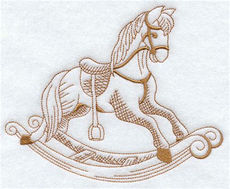 embroidery design horse free diy rocking horse embroidery designs plans free
