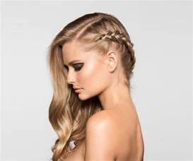 hair style for with one side of braid how to a chic and easy 3 step side french braid glamour