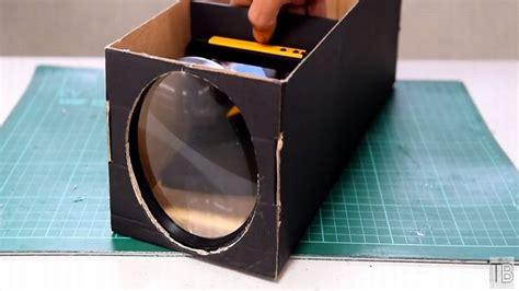 Proyektor Rumah cara murah bikin proyektor dengan alat rumah tangga okezone techno