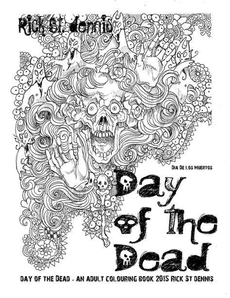 dia de los muertos coloring book airless chambers colouring book dia de los muertos