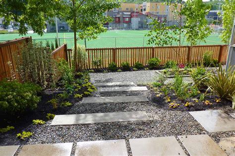 Landscape Design How To Concrete Steps In Landscape Contemporary Landscape