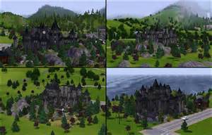 Paint Your House by Mod The Sims Vampire Castle