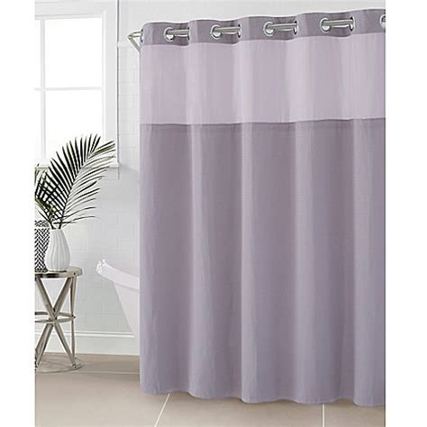 74 inch curtains buy hookless 174 waffle 71 inch x 74 inch fabric shower