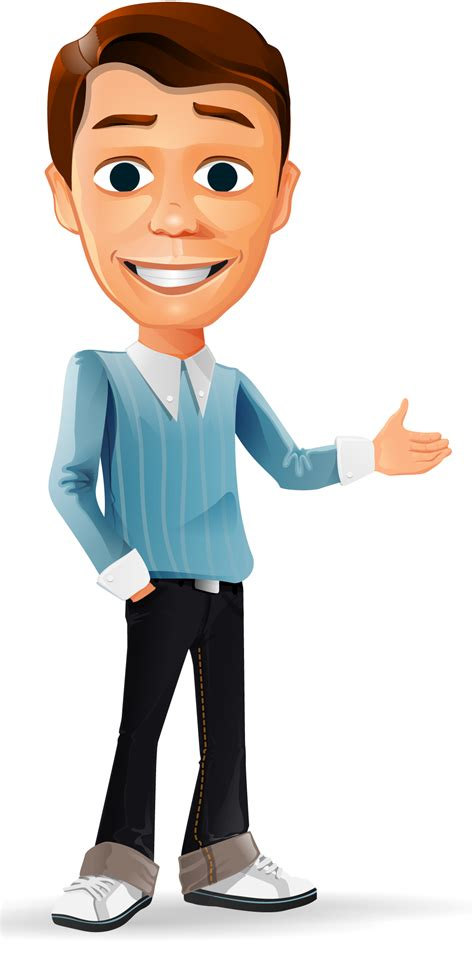 cartoon transparent 3d animated characters png www pixshark com images