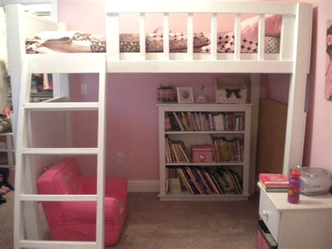 teen loft bed furniture loft bed with floating padded stairs for teen girls extraordinary design