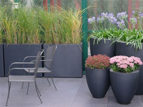 fibreglass trough planters