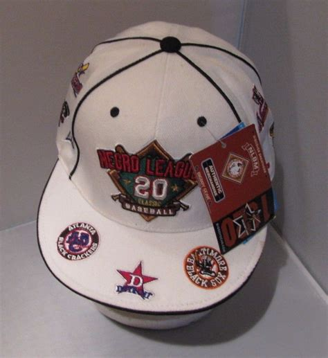 negro league classic baseball cap fitted ebay