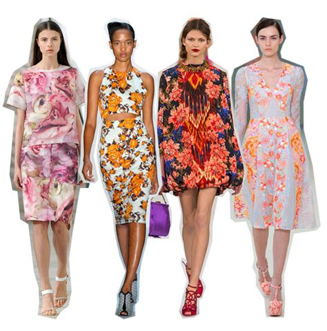 Summer 08 Trends Floral The Catwalk Looks by Flower Power Jigsaw