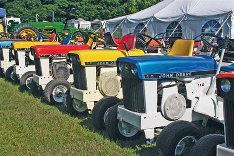 Lawn And Garden Tractor Magazine by Deere At Kalamazoo Valley Antique Engine And