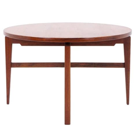 Revolving Dining Table Top Jens Risom Revolving Top Lazy Susan Or Dining Table For Sale At 1stdibs