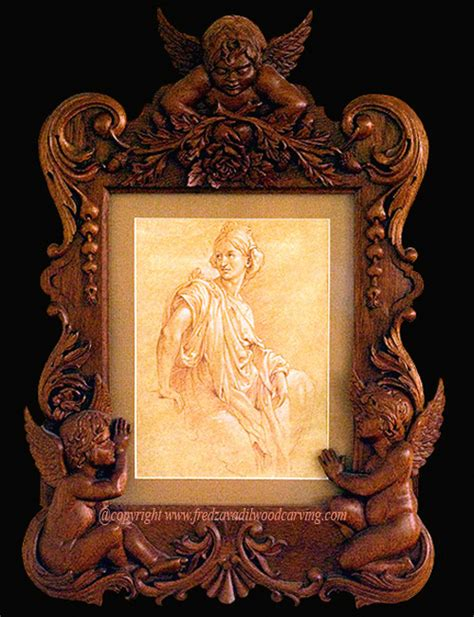pattern of wood frame carved custom relief carving and architectural wood carving