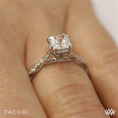 tacori 57 2 pr sculpted crescent elevated crown for