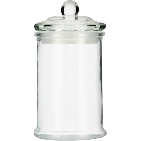 Glass Bathroom Storage Jar Small Offer Expires 26 May Jar Bathroom Storage