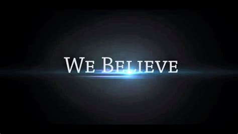What We Believe cchr what we believe