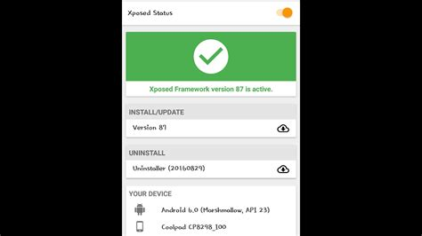 xposed installer apk tutorial how to install xposed framework in coolpad note 3 lite