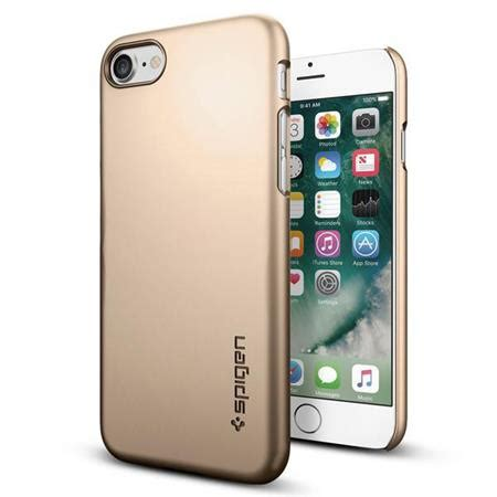 Spigen Thin Fit Iphone X Original Chagne Gold spigen thin fit for iphone 7 chagne gold 042cs20732
