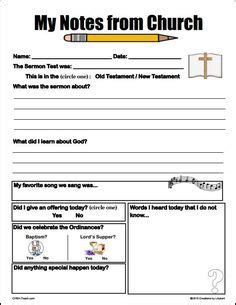 Childrens Worship Service Outline by At Laurel One Of The Most Successful Ways We Ve Found To Help Our Children And