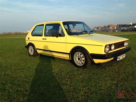 volkswagen yellow 1982 volkswagen golf gti yellow mk1 2 3 4 5 6