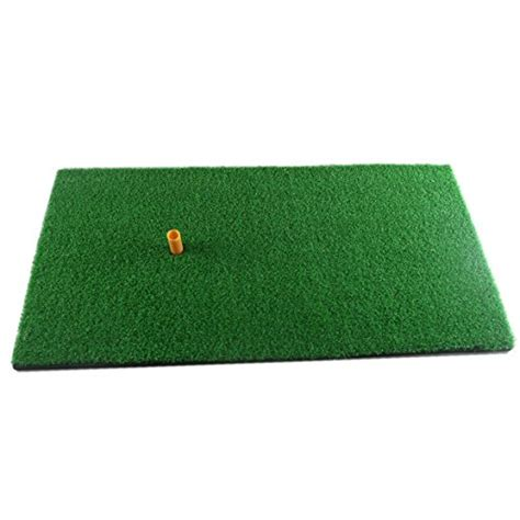 Indoor Golf Mat by Golf Mat Residential Practice Hitting Rubber Holder