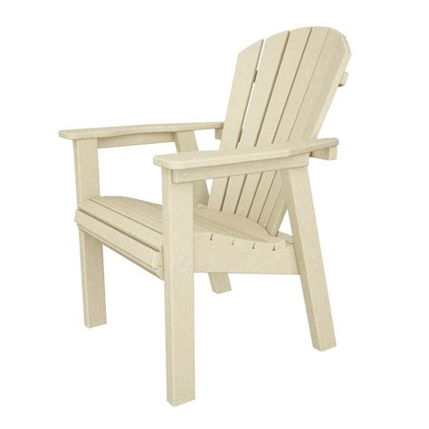 Adirondack Chairs Lowes by Shop Polywood Seashell Sand Recycled Plastic Casual