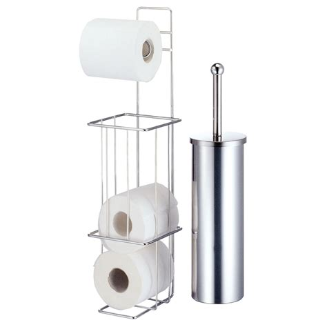 bathroom toilet paper holder free standing new free standing chrome toilet roll holder brush