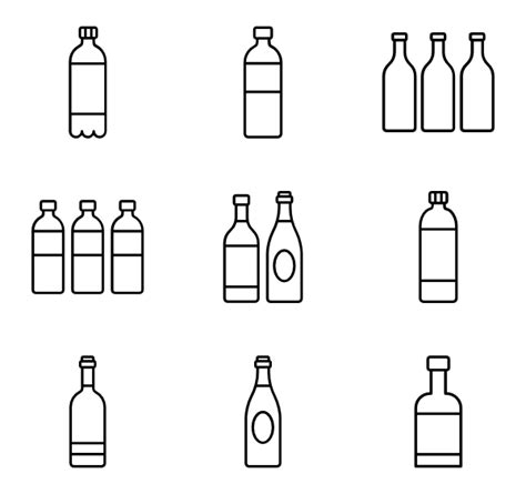 figure aerosol sprays with recycle symbol icon vector image by grmarc bottle icons 5 421 free vector icons