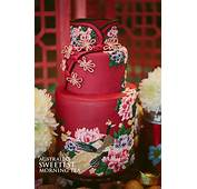 Oriental Wedding  Chinese Dress Inspired Cake 2058895