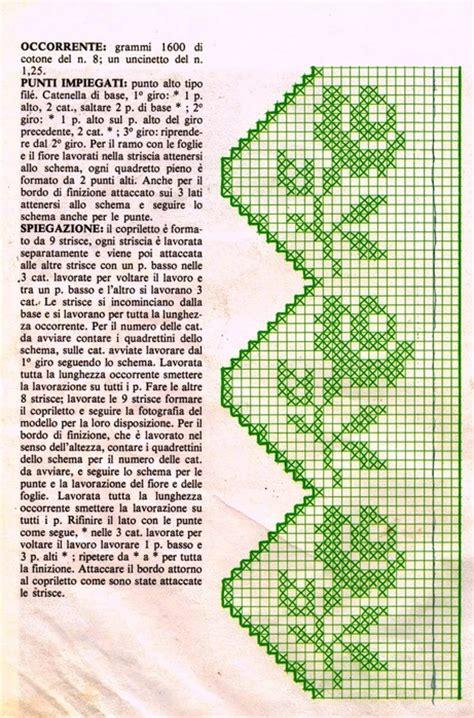 copriletto filet schemi copriletto filet schemi 28 images copriletto
