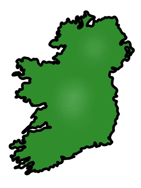 clipart of map clip ireland map clip of ireland clipart 5735
