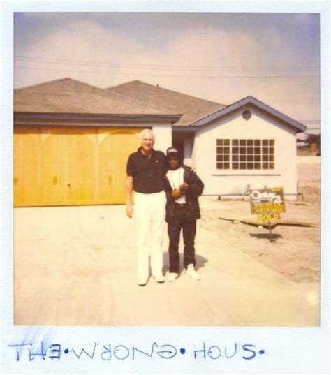 eazy e house i found this strange polaroid picture of eazy e buying a house pics