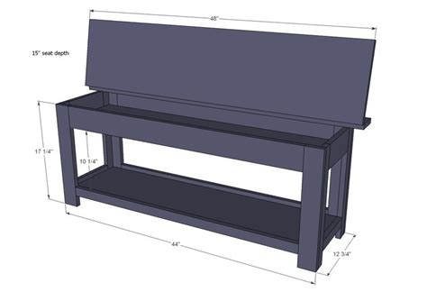 build piano bench piano bench plans storage woodworking projects plans