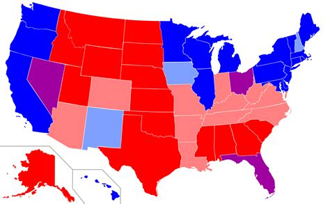 us map and blue states 2012 stronger economy blue states or states econopolitics