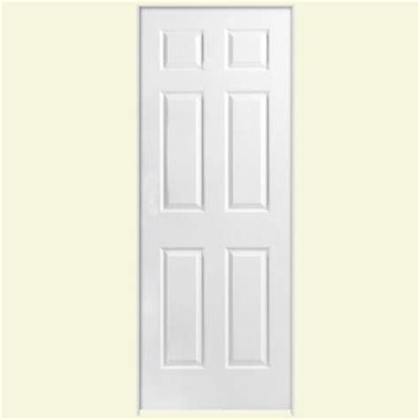 hollow core interior doors home depot textured 6 panel hollow core primed composite prehung interior door