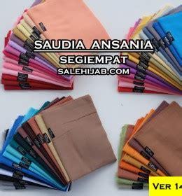 Ecer Segiempat Saudi Exlusif Square Saudi Polos 1 sale grosir kerudung jilbab segiempat dan pashmina murah berkualitas