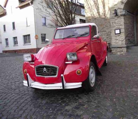 Auto Ente Cabrio by 2cv Ente Hoffmann Umbau Cabrio Speedster Tolle