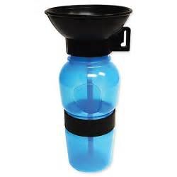 aqua dog travel water bowl bottle in aqua bed bath amp beyond