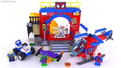Mainan Anak Lego Junior 10687 lego juniors spider hideout review set 10687