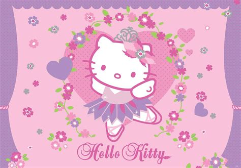 Hello Kitty Wallpaper Mural | hello kitty wall paper mural buy at abposters com