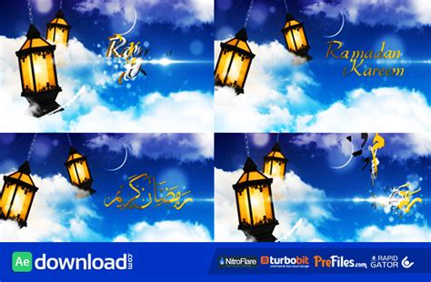 template after effects ramadan ramadan ident videohive free download free after