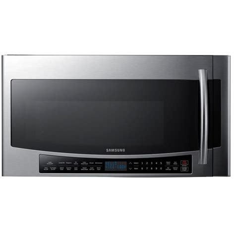 Samsung Ms28j5255ubse Microwave 1 samsung 30 in 1 7 cu ft the range convection microwave in stainless steel with sensor