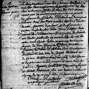 Montreal Marriage Records Claude Robillard 1650 1719 Wikitree Free Family Tree