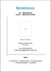 Anschreiben Bewerbung Zur Bürokauffrau Bewerbung Deckblatt Vorlagen Und Muster