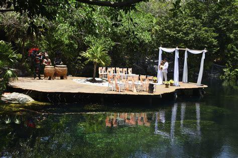 Sandos Caracol Cenote Wedding Venue   Weddings By Funjet