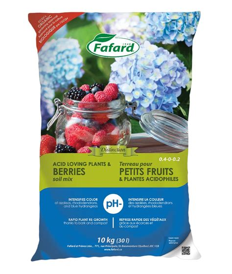 Plante Terre Acide by Terreau Plante Acide Fruit 30 Litres Fafard Nos