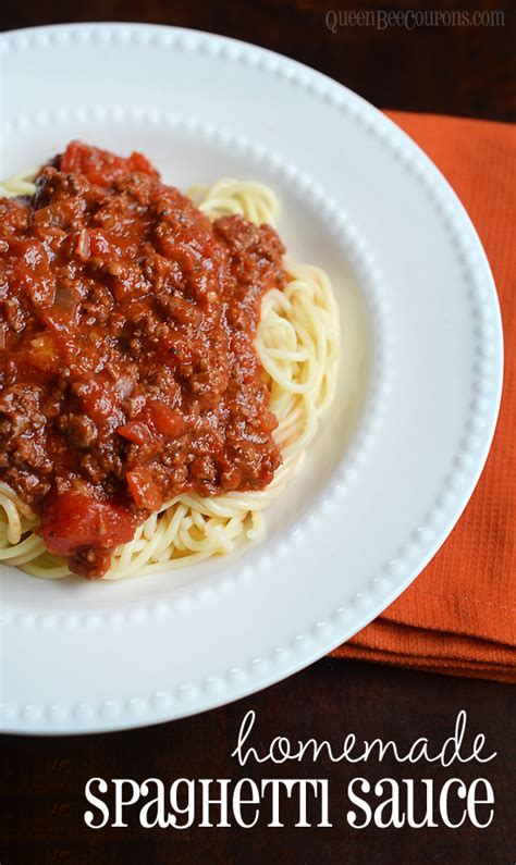 Handmade Spaghetti - spaghetti sauce recipe dishmaps
