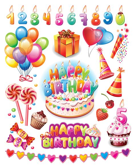birthday themes download happy birthday party supplies vector free vector graphic